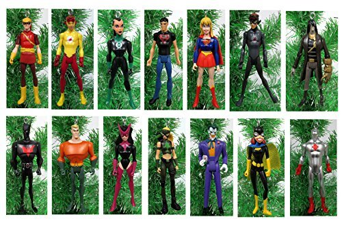 Justice League YOUNG JUSTICE Christmas Tree Ornaments - 4