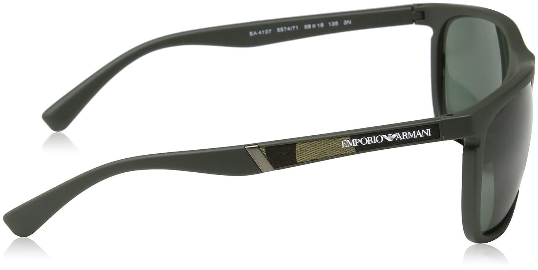65d1d8df7fd Emporio Armani Unisex s Earmani 4107 Sunglasses