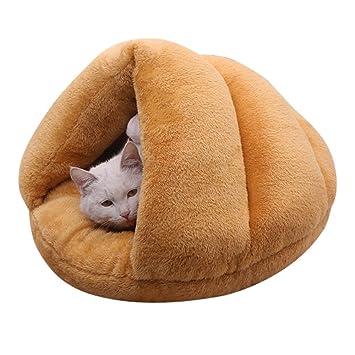 Baffect Cueva para Perros,Camas Blandas para Mascotas Cama Nido para Perros Bolsa de Dormir