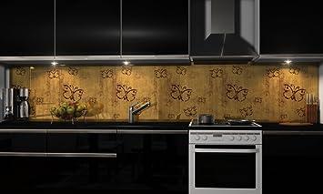 Kuchenruckwand Folie Selbstklebend Holzoptik Klebefolie Dekofolie
