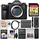 Sony Alpha A9 Wi-Fi 4K Digital Camera Body with 128GB Card + Battery & Charger + Remote + Cleaning Kit