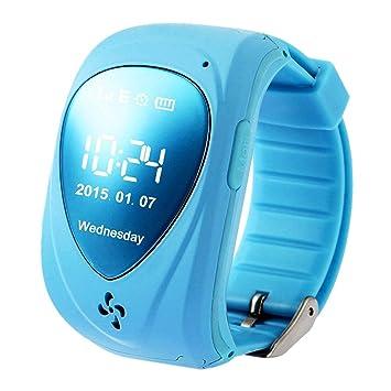 SODIAL (R) impermeable inteligente muñeca reloj alarma de ...