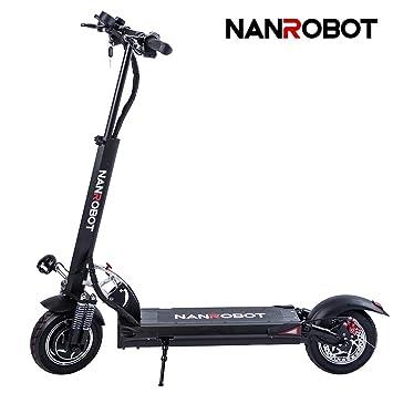 Amazon.com: NANROBOT D5+ - Scooter eléctrico potente de 10 ...