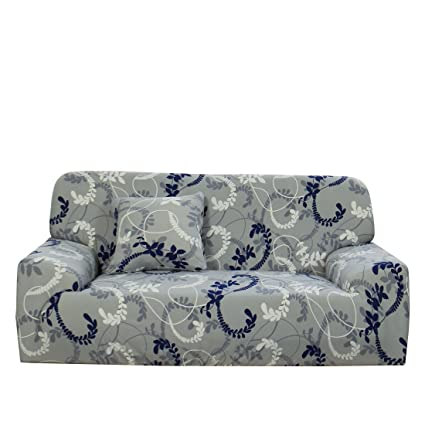 uxcell Stretch Sofa Cover Couch Cover 3 Seater Polyester Spandex Fabric  1-Piece Sofa Slipcover for Chair Loveseat Sofa Elastic Furniture Protector  ...