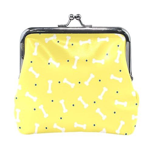 Amazon.com: Bonito diseño de hueso de perro de piel amarilla ...
