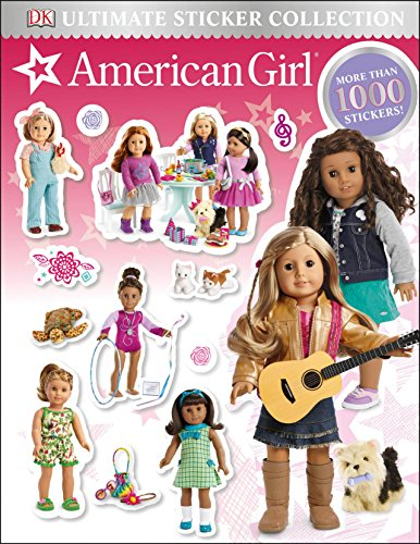 American Girl Stickers - Ultimate Sticker Collection: American Girl