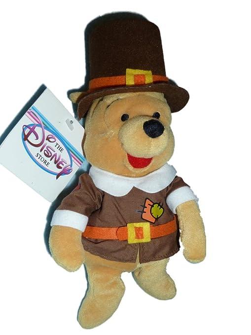 Winnie the Pooh - Pilgrim - Disney Bean Bag Plush