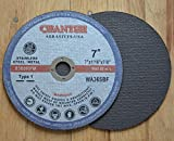 7'' X 1/16'' X 7/8'' Cut-off Wheels for Stainless Steel & Metal Cutting Disc (100 Pack)