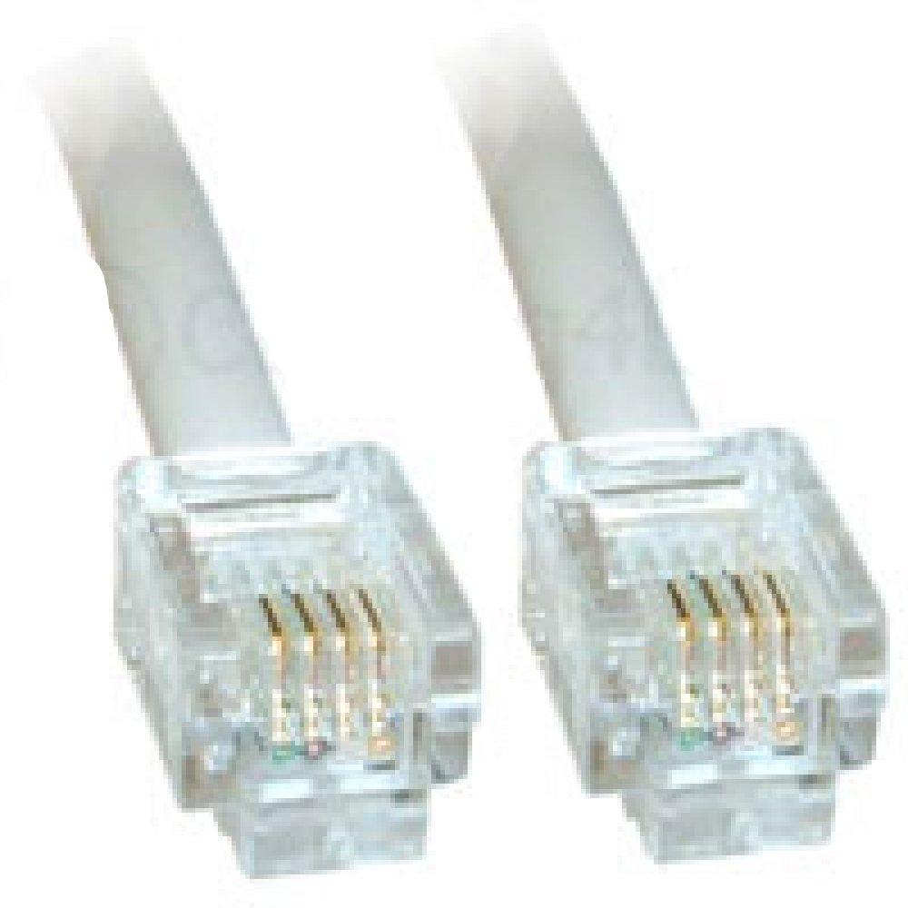 Cable ADSL 20m Calidad Premium//Gold Plated Pins//de alta velocidad de banda ancha a Internet