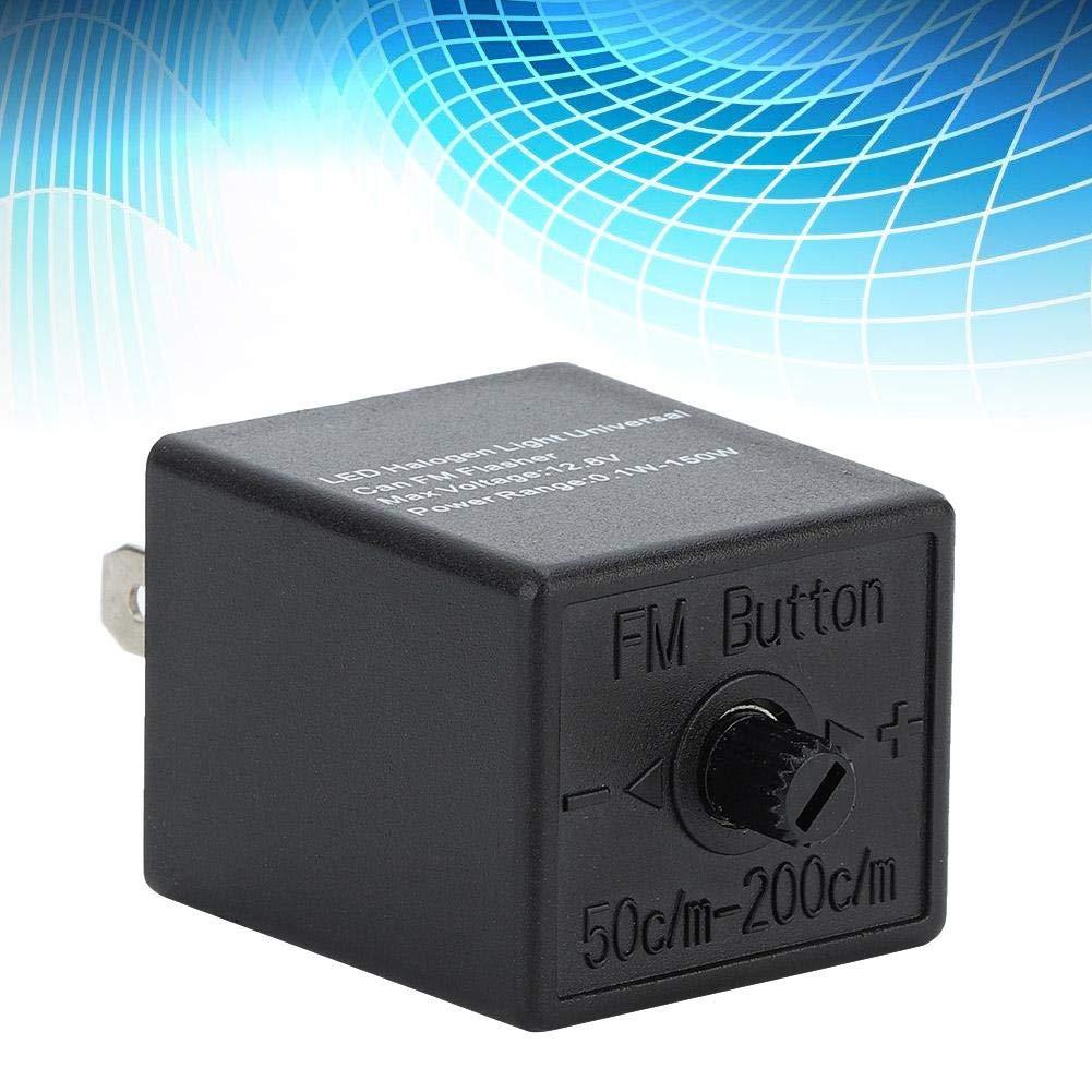 LED Flasher 12 V 24 V 3 PIN Rel/è regolabile Indicatore di direzione Blinker per moto