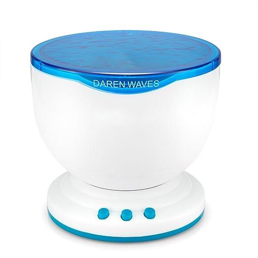 Romántico Ocean Waves Luz relajarse proyector proyección, MP3 ...