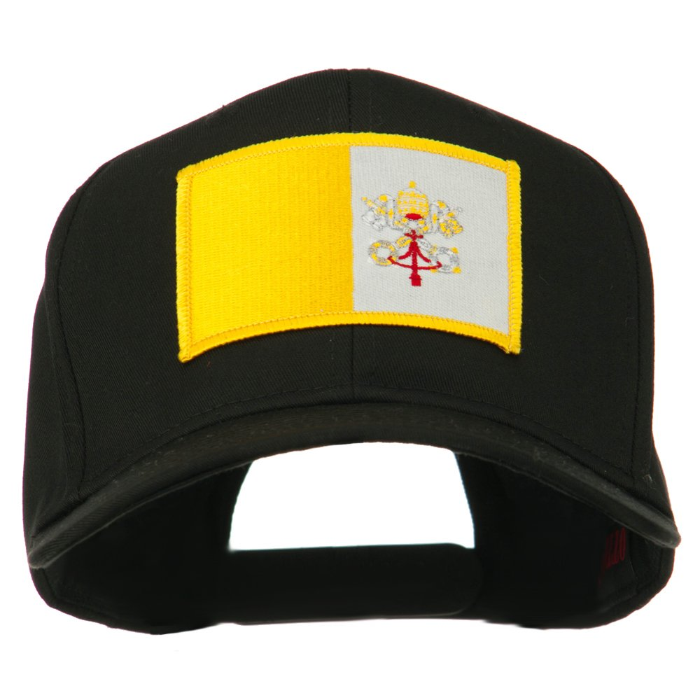 8e80a1d6eb0 Europe Flag Embroidered Patch Cap - Vatican City OSFM at Amazon Men s  Clothing store  Baseball Caps