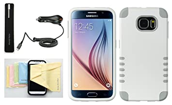 Amazon.com: Galaxy S6 [Hybrid Armor] doble capa ...