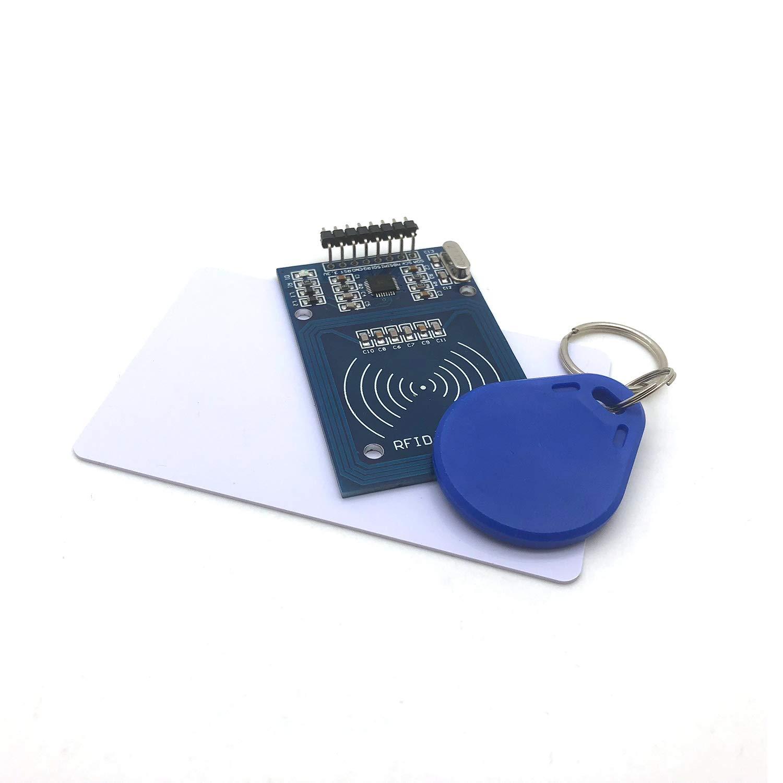FTCBlock RFID Kit - Mifare RC522 RF IC Card Sensor Module + S50 Blank Card  + Key Ring for Arduino Raspberry Pi