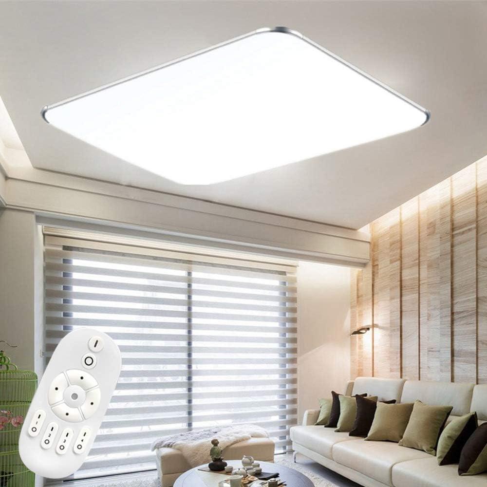 36W Froadp Dimmbar LED Deckenleuchte Panel Stufenlosen Dimmens mit Fernbedienung Flimmerfreie Deckenlampe IP44 Blendfrei f/ür K/üche Schlafzimmer Flur Wohnzimmer