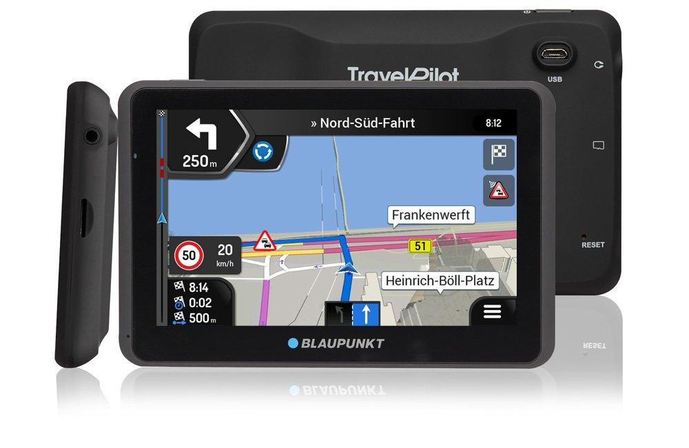 Blaupunkt TravelPilot 65/Active EU LMU/ /Sistema di navigazione con supporto attivo kapazitives in vero vetro touch di display a colori