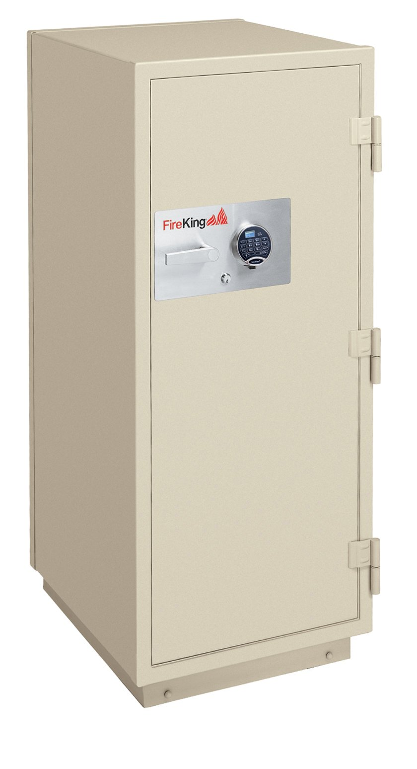 Fireking 2-Hour Fire with Impact & Burglary Rated Safe, 60.5'' H x 25.5'' W x 28.88'' D/11.2 cu. ft., Taupe