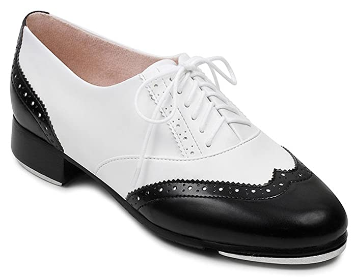 Retro Style Dance Shoes Bloch Womens Charleston Lace Up Fashion Dance Oxfords  AT vintagedancer.com