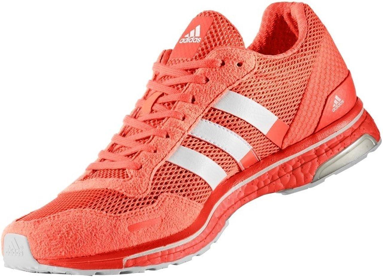 adidas Adizero Adios 3 M Zapatos de Correr Hombre Naranja, 48 ...