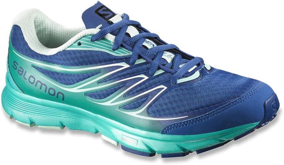 Salomon 376035 Sense Link - Zapatillas de running para mujer, color azul: Amazon.es: Zapatos y complementos