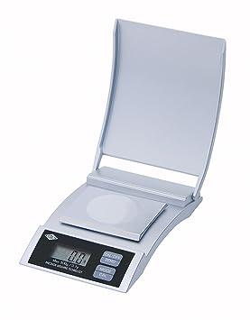 Wedo 048554 - Báscula digital de precisión (entre 500 y 0,1 g), color plateado: Amazon.es: Oficina y papelería