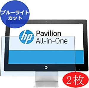 "【2 Pack】 Synvy Anti Blue Light Screen Protector for HP Pavilion 22-a100 All-in-One AIO / a113w / a151la / a109 21.5"" Screen Film Protective Protectors [Not Tempered Glass]"