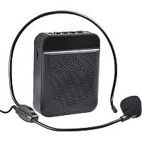 tairong Amplificador de Voz portátil, Amplificador de Voz con batería de Iones de Litio Recargable de 1800 mAh, Soporte…