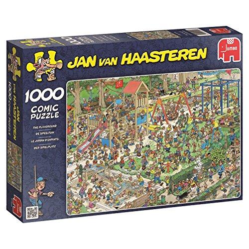 Jumbo Jan Van Haasteren The Playground Jigsaw Puzzle (1000 Piece) ()