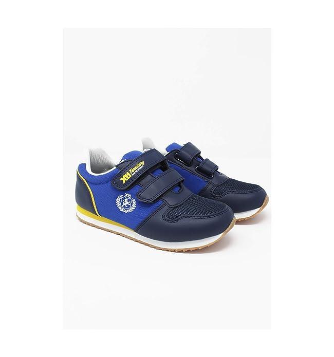 4afb821a Xti - Deportiva niño Nylon velcros Marino - Marino, 34: Amazon.es: Zapatos  y complementos