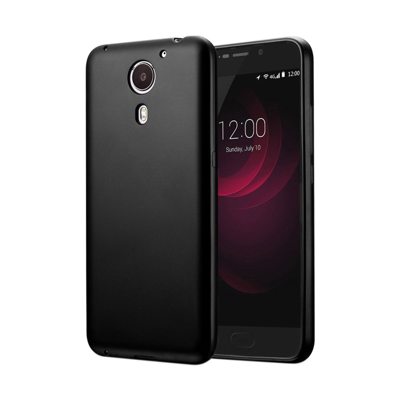 Guran® Silicona Funda Carcasa para UMI Plus Smartphone TPU Bumper Shock case Cover-Negro: Amazon.es: Electrónica