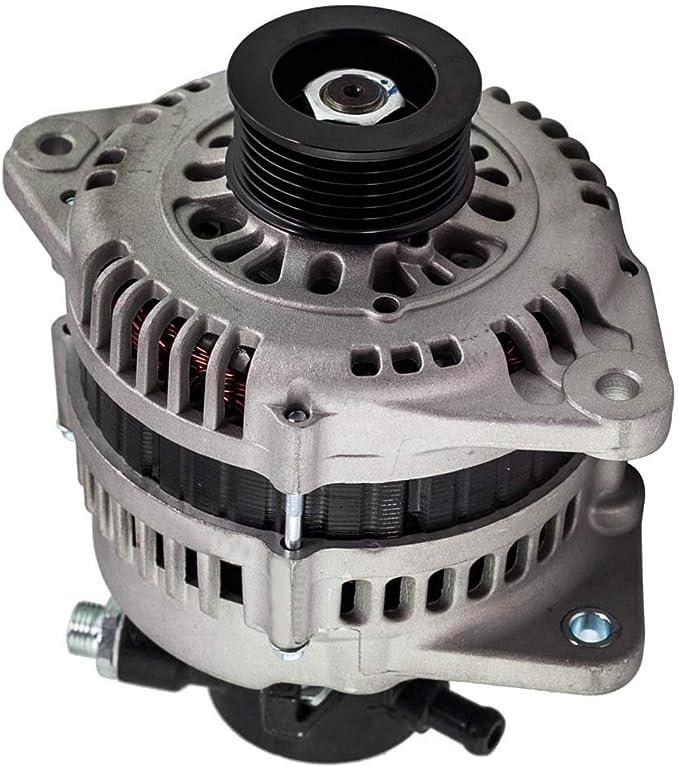 LZZJ Alternadores Generador del alternador para Vauxhall Astra G 1.7 CDTI DTI AC 1686CCM 2000- para Opel Combo 1.7 DTI LR1100502M R1530037 93175799