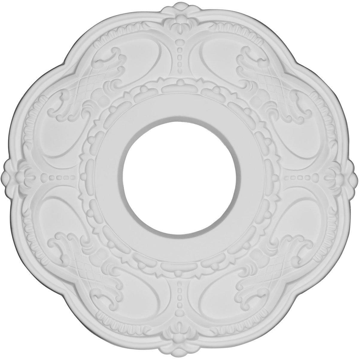 Ekena Millwork CMR12RO 11.5 x 3.5 x 1 in. Rotherham Ceiling Medallion Primed