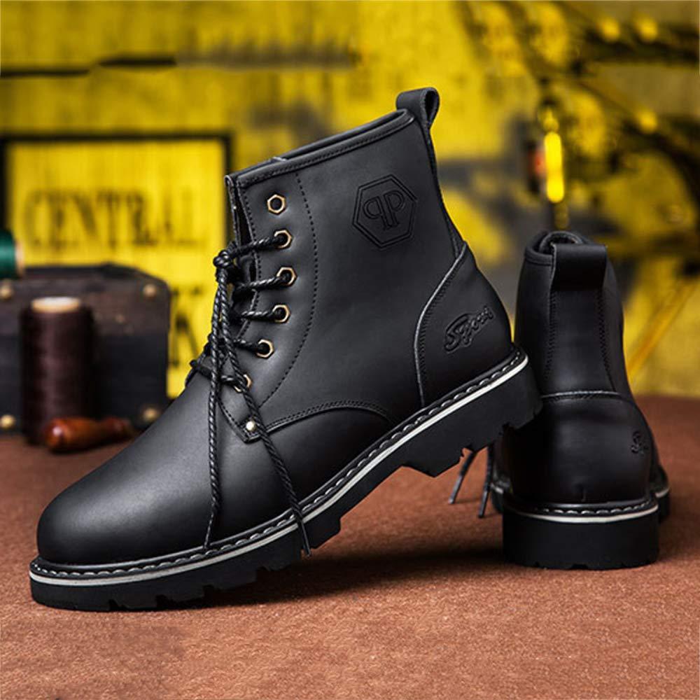 Winter Martin Stiefel Herren England England England Hohe Hilfe Plus Samtspitze Kurze Stiefel Casual Hohe Schuhe 783df2