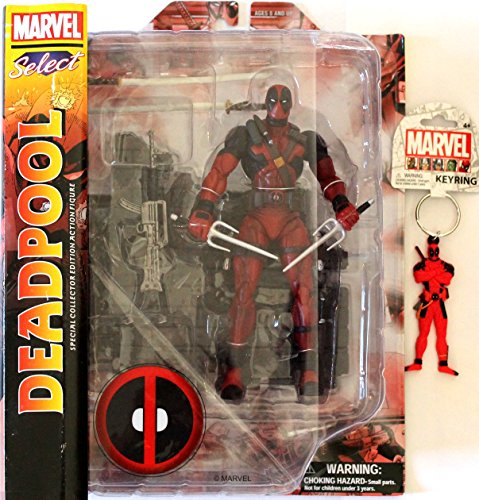 Baby Professor X Costume (Diamond Select Toys Marvel Select: Deadpool Action Figure Bundle includes Deadpool PVC Keyring)