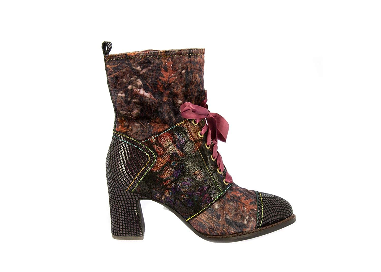 Laura Vita SL64-4A Electre 04 Schuhe Damen Stiefeletten Ankle Stiefel