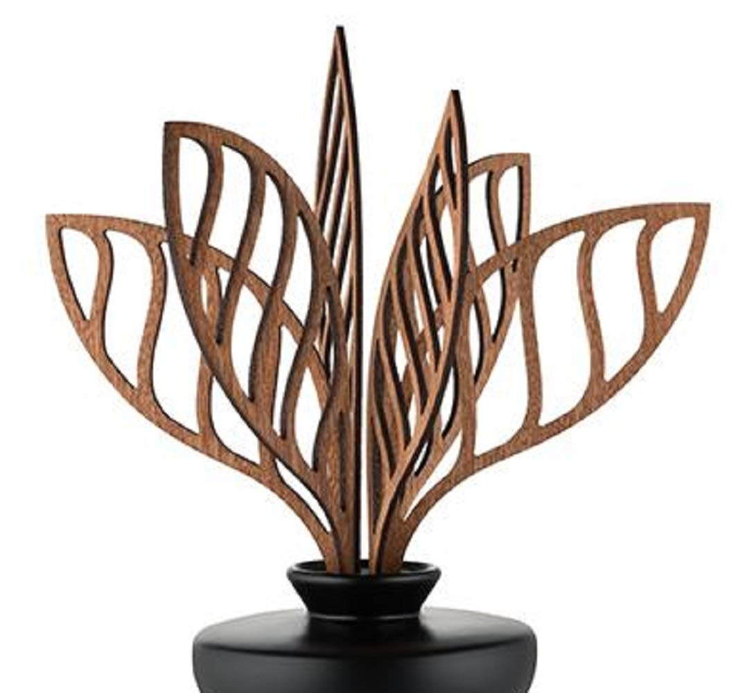 Alessi The Five Seasons Shhh Replacement Diffuser Leaves, Mahogany Wood, by Marcel Wanders