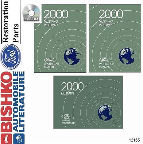 2000 mustang service manual