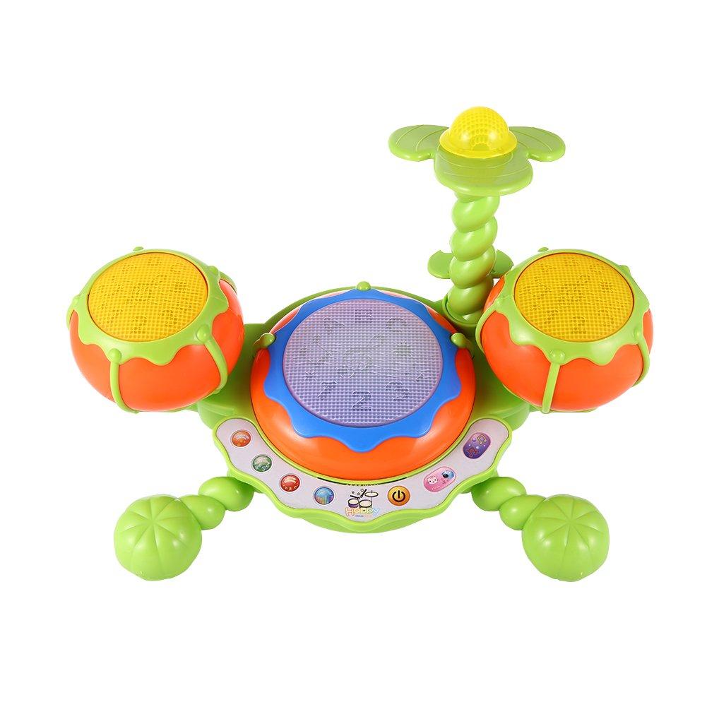 ThinkMax Kids Beats Kids Drum Set Jazz Drum for Kids Musical Learning