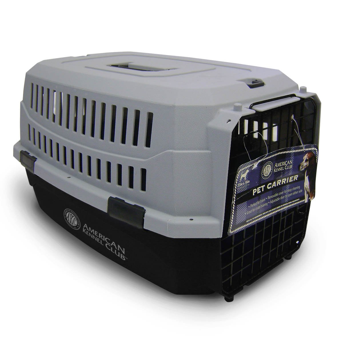 American Kennel Club Akc6008Lblk Akc Kennel, Large