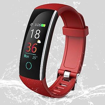 SAWEY Montre Connectée IP68, Bracelet Connecté Fitness Tracker dActivité Montre Cardio Sport avec