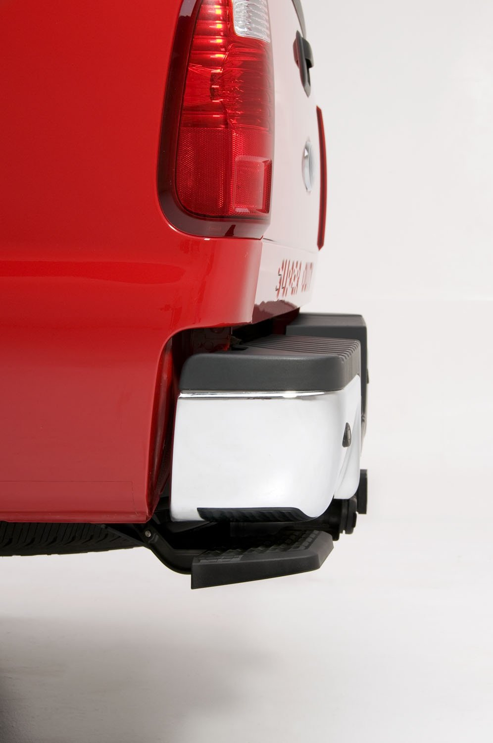 AMP Research 75303-01A BedStep Retractable Bumper Step for 1999-2016 Ford F-250//F-350//F-450