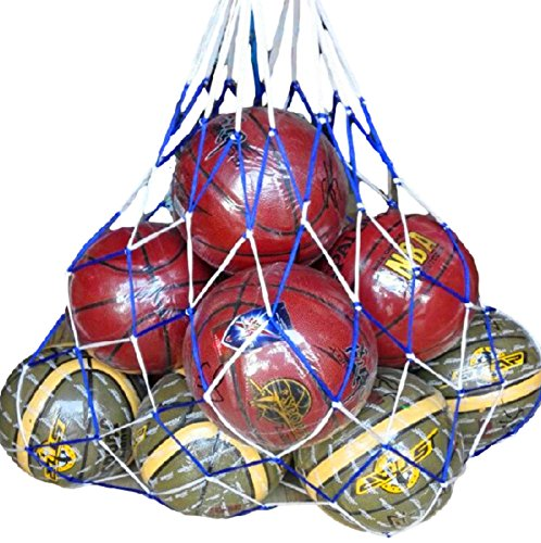 (リッチェ) Ricce 大容量 ! バスケットボール 10個 収容 特大 メッシュ ボールネット 網袋 ネット 簡易バッグ キャリーバッグ 袋 サッカーボール バレーボール フットサル バスケ サッカー バレー ボール 学生 部活 試合 練習