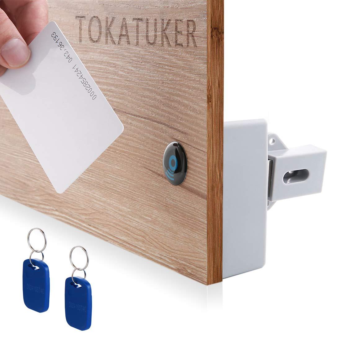 Tokatuker Rfid Electronic Cabinet Lock Hidden Diy For