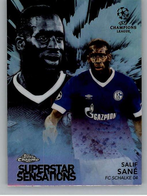2019 Topps Chrome Bundesliga Salif Sane Schalke 04 Future Stars