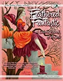 img - for Feathered Fantastic; A Coloring Book of Angels book / textbook / text book