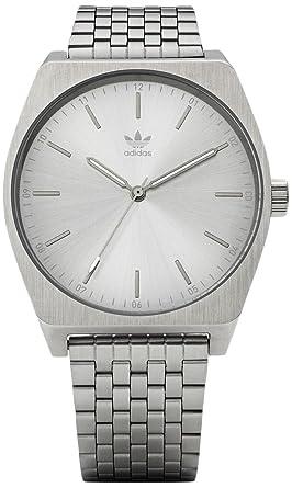 Adidas by Nixon Reloj Analogico para Hombre de Cuarzo con Correa en Acero Inoxidable Z02-1920-00: Amazon.es: Relojes