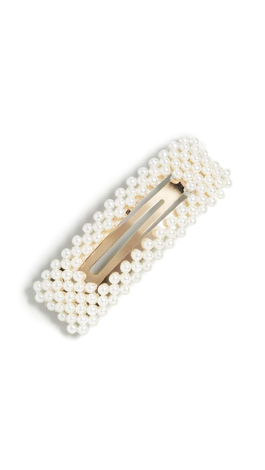 Jennifer Behr Women's Valerie Flip Clip, Pearl, Off White, One Size by Jennifer Behr