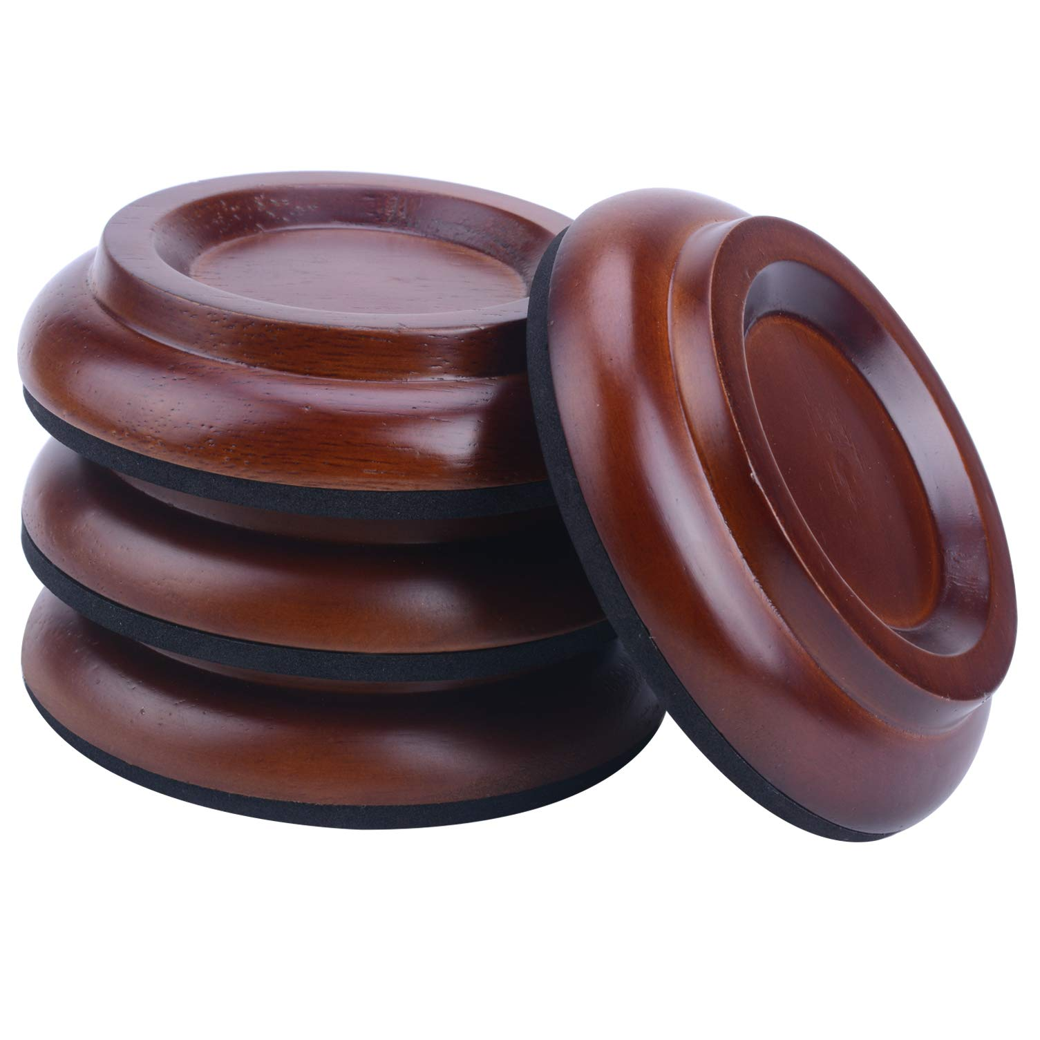 Piano Caster Cups Upright Piano Caster Cups Wood coasters Cups