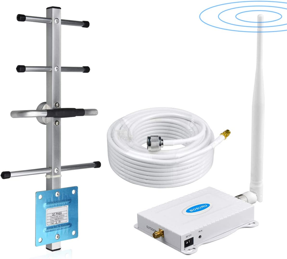 Verizon Cell Phone Signal Booster 4G LTE Cell Phone Booster Verizon Cell Signal Booster Verizon Signal Booster Amplifier Band13 FDD Home Cell Booster Enhance 4G Voice +Data with Antennas for Home