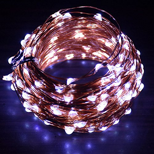 Comunite LED String Lights 50M 400 LEDs, Waterproof Copper Wire Lights with Remote Control Decorative for Bedroom, Patio, Parties,Garden,Wedding